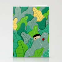 hunting Stationery Cards featuring Hunting by Mark Conlan