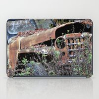 jeep iPad Cases featuring Vintage Jeep by Victoria Rushie