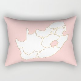 South Africa map Rectangular Pillow