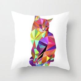 Alfonso the Cat - Karl Kater Throw Pillow