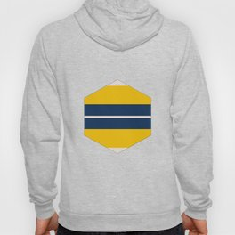 Pearl Corn Zodiac Stripes Hoody