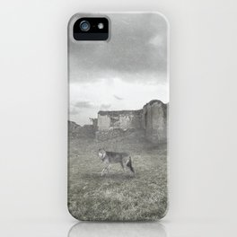 LOST ONE-WOLF iPhone Case