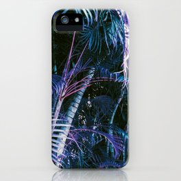 Hawaii Palm Blues iPhone Case