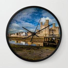 Caernarfon Castle Wall Clock