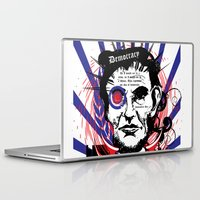 lincoln Laptop & iPad Skins featuring Abraham Lincoln by Peter_Vs_All