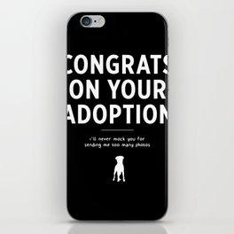 Congratulations! iPhone Skin