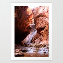 Grand Canyon Hidden Waterfall Art Print