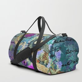 Feather peacock 22 Duffle Bag