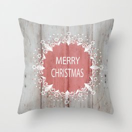 Merry Christmas #2 Throw Pillow