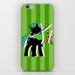 OP Pony Zoro iPhone Skin