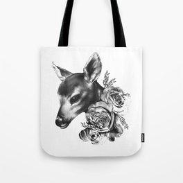 Fawn & Flora II Tote Bag
