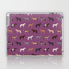 horses farm animal pet gifts Laptop & iPad Skin