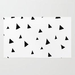 Disorganized Triangles Rug