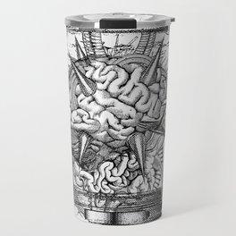 Mother Brain Super Metroid Engraving Scene Travel Mug