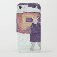 montana iPhone & iPod Cases featuring Montana by Art Department Bunny