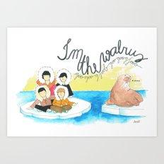 Les Petits - I'm The Walrus Art Print