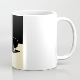 MGB, Black on Cream Coffee Mug