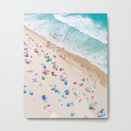 Colors of Manhattan Beach California Metal Print