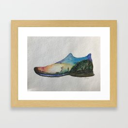 Run Wild Framed Art Print