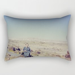 Desert Grandma Rectangular Pillow