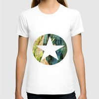 tulip T-shirts featuring Tulip by Aloke Design