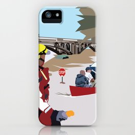 SC Flood iPhone Case