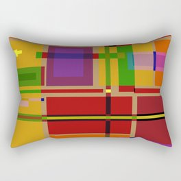 PIXEL MAP Rectangular Pillow
