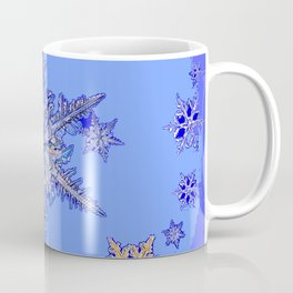 """BLUE SNOW ON SNOW"" BLUE WINTER ART Coffee Mug"