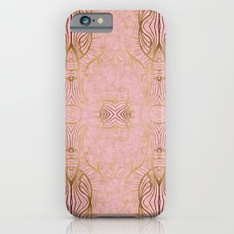Paris Royal Gold Antique iPhone Case