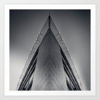 triangle Art Prints featuring triAngle by Dirk Wuestenhagen Imagery