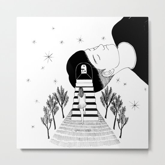 Into Your Dream Metal Print