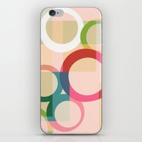 circles iPhone & iPod Skins featuring circles by clemm