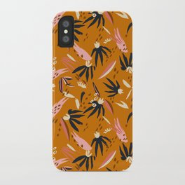 ADOBO GARDEN OCHRE iPhone Case
