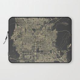 Las Vegas Map #1 Laptop Sleeve