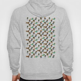 Sausage Dogs - Dachshunds with Jumpers Hoody