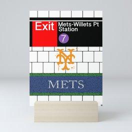 NYC Subway Mini Art Print