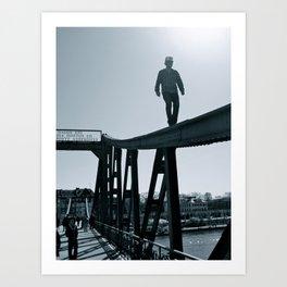 Main River Daredevil  Art Print