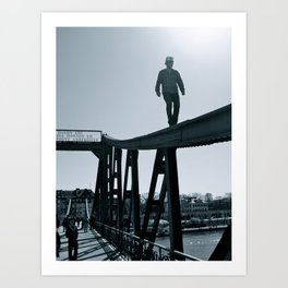 Main River Daredevil  Art Print