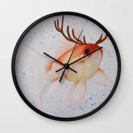 Pez ciervo  Wall Clock
