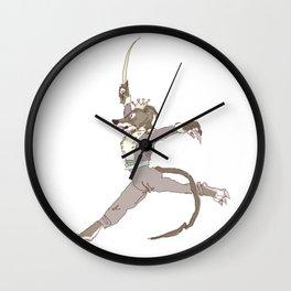 he is cermet the rat king  Wall Clock