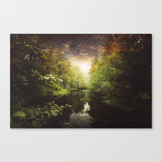I miss you so much Canvas Print