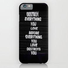 DESTROY / alt version Slim Case iPhone 6s