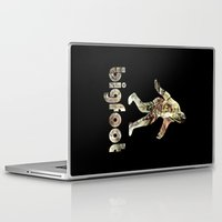 bigfoot Laptop & iPad Skins featuring Bigfoot Predator by D-fens
