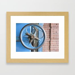 Oh baby, turn me clockwise Framed Art Print