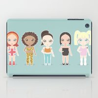 spice iPad Cases featuring Spice Girls by Ricky Kwong