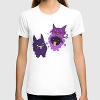 gengar T-shirts featuring Gastly, Haunter, and Gengar by BritAndBran