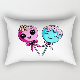 Couple Cake Pops Rectangular Pillow