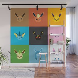 Eeveelution Wall Mural