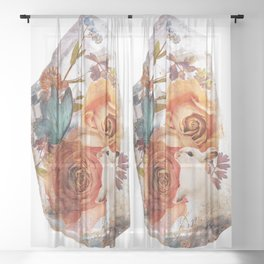 VELVETEEN Sheer Curtain