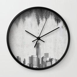 THE EVOLUTION Wall Clock